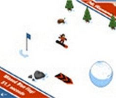 Bayrak Snowboard oyunu oyna